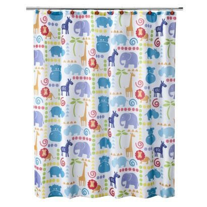 Hippo Shower Curtain 70x71 Opens In A New Window Kids Shower