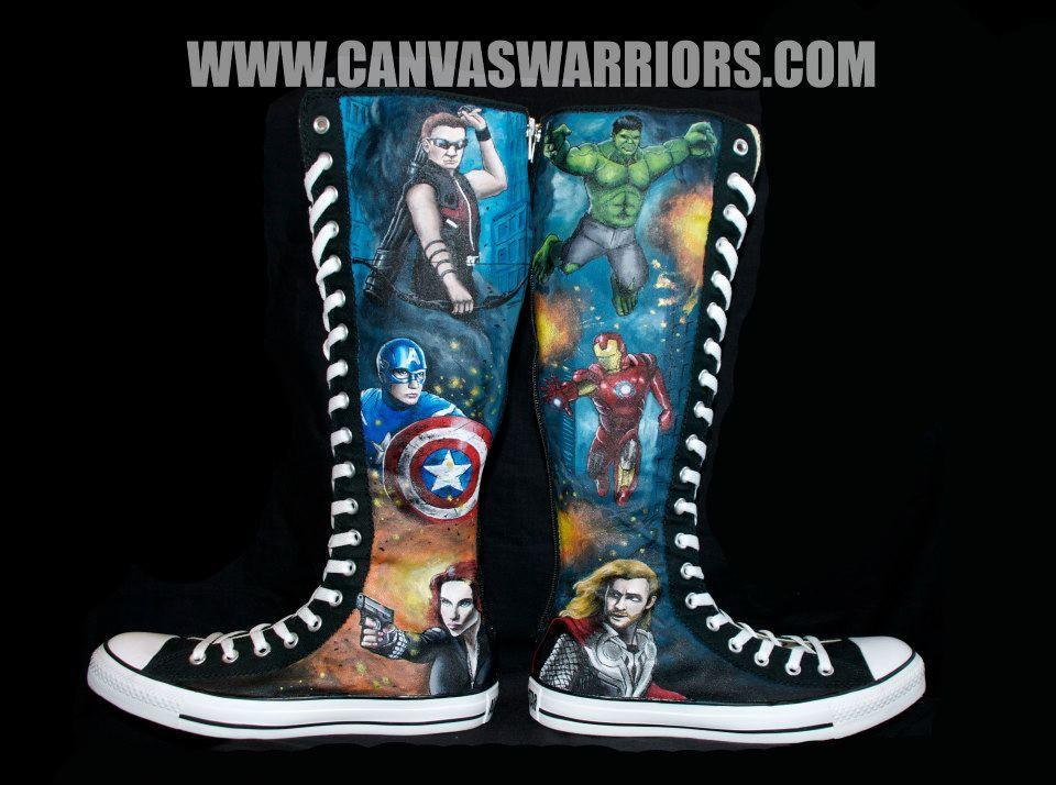 PinkRobott Canvas Warriors
