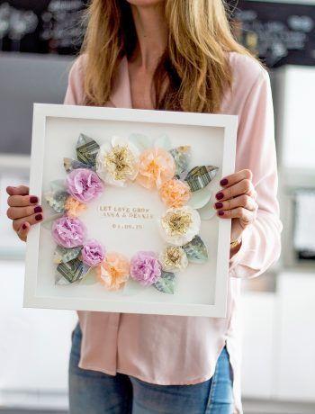 Photo of DIY gift idea: money gift for wedding and birthday