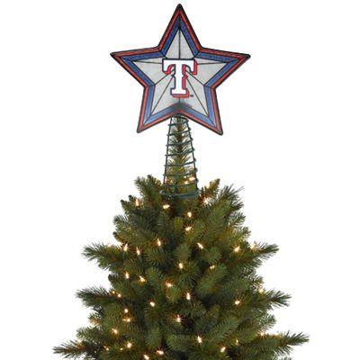 Texas Rangers Tree Topper