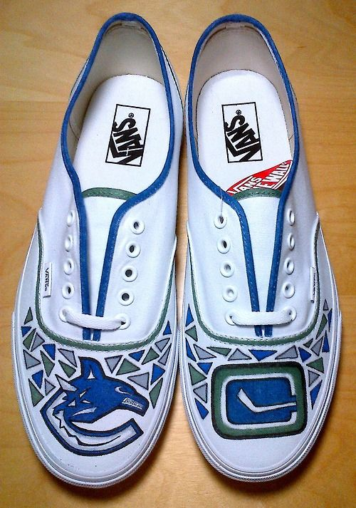 Vancouver Canucks Shoes This Is What We Live For To These For Tom Canucks Vancouver Canucks Vans