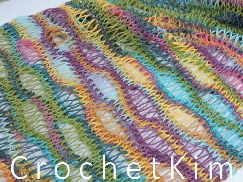 CrochetKim Free Crochet Pattern: Entwined Helix Scarf @crochetkim ...