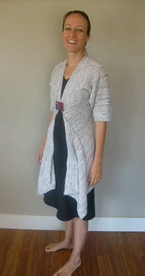 958c27836 Sweater refashion from old crew sweater (Also check out the sweater ...