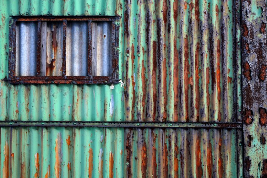 Rust And Teal Beautiful Color Combo Corrugated Metal Wall Corrugated Metal Roof Corrugated Metal
