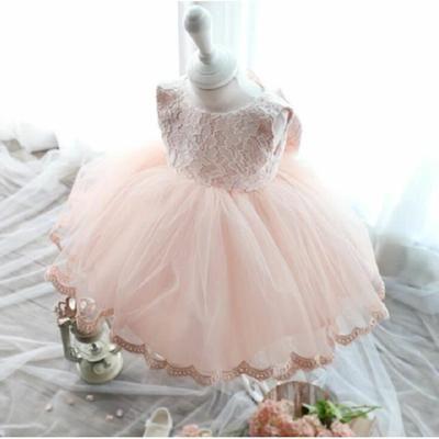 Robe De Mariee De Fille De Fleur De Tulle De Filles Pour Tout Petit Et Bebe Robe Enfant Ceremonie Robe De Princesse Bebe Robe De Bouquetiere