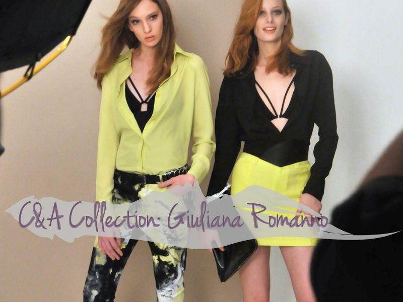 C&A e Giuliana Romanno