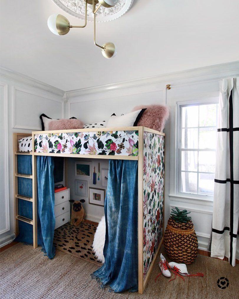 Loft bedroom for boys   Likes  Comments  Kristin Jackson huntedinterior on