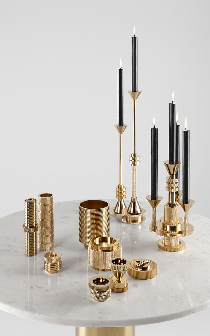Candle Holders Rational Retro America Modern Creative Tall Votive Candlestick Europe Romantic Gold Candle Holder Wedding Holiday Home Centerpiece
