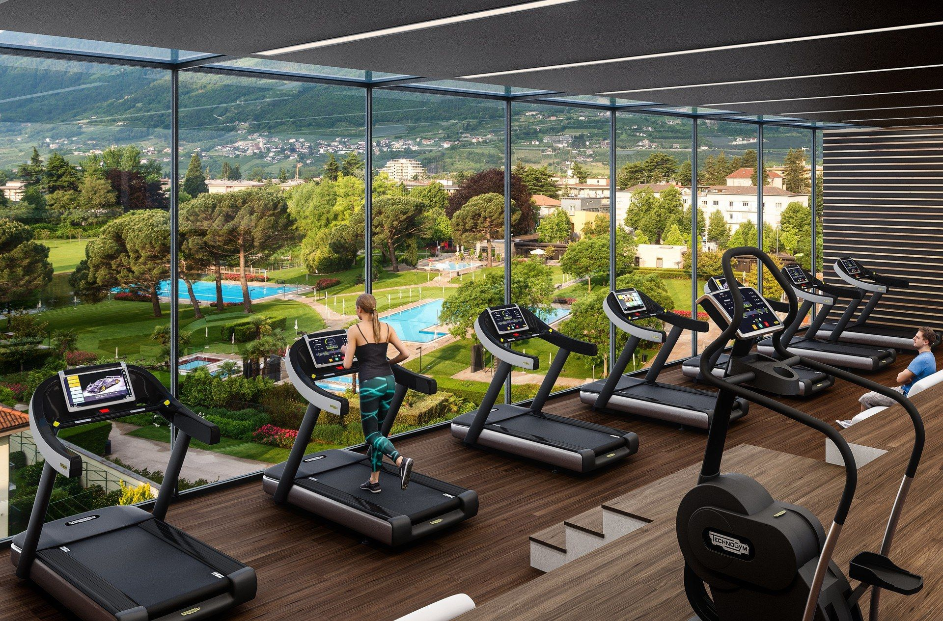 Fitnessraum hotel  Fitnessraum im Hotel Therme Meran #Thermemeran #Südtirol | Hotel ...