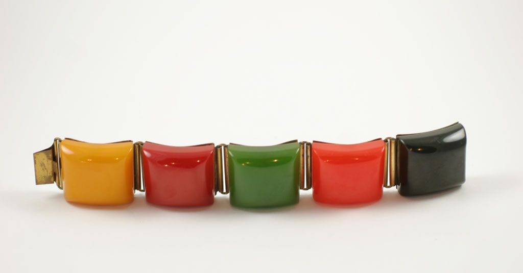 """Bakelite """"Chuckles"""" Bracelet 