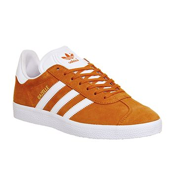 more photos b7ae1 c4aa3 Adidas Gazelle Unity Orange White Gold Met - His trainers
