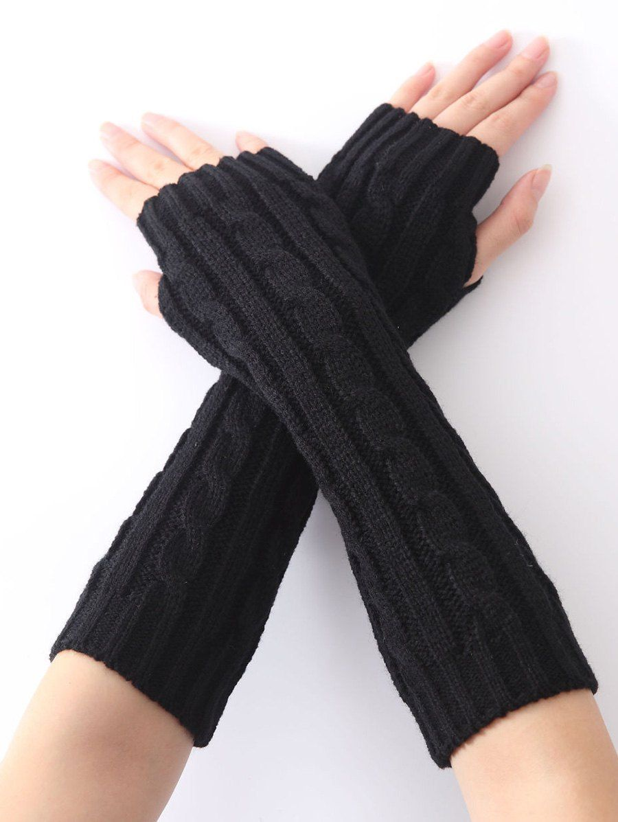 Hemp Decorative Pattern Crochet Knit Arm Warmers 3.55 USD | Fashion ...