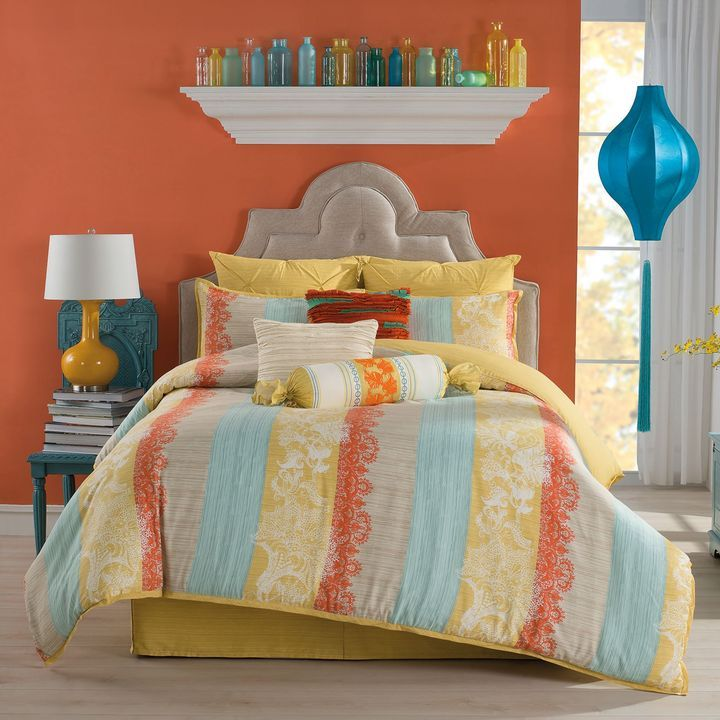 bed bath  beyond anthologytm haddie reversible comforter