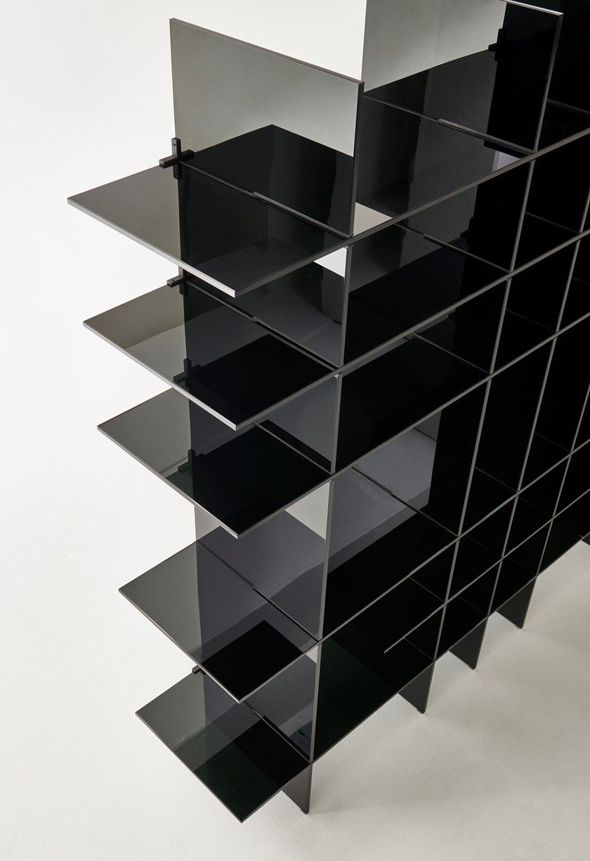 Black Glass Bookshelf Shows Atmosphere More Sedate Suit To Pursue Contracted But The Person That