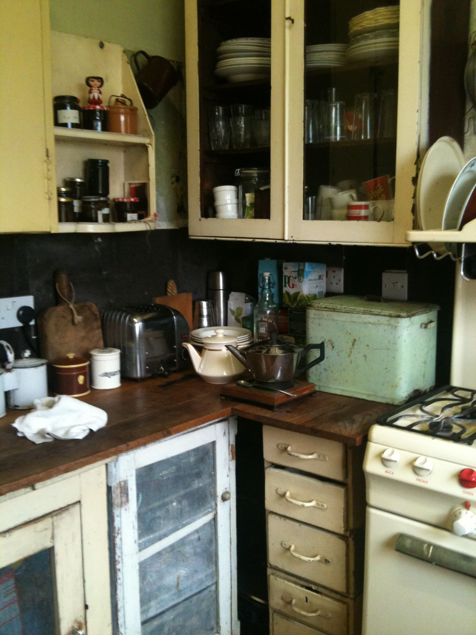 The recycled house in Sydenham old kitchen