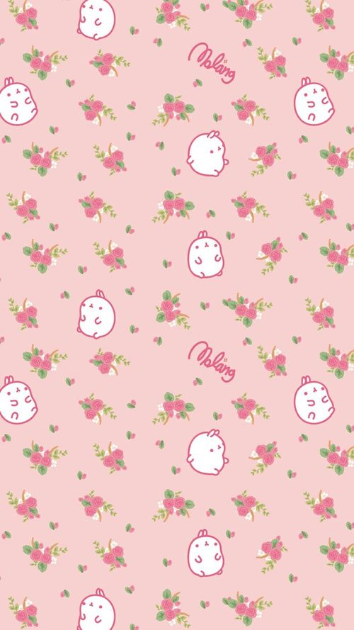 Image Uploaded By Geya Shvecova Find Images And Videos About Cute Pink And Art On We Heart It The Cute Patterns Wallpaper Kawaii Wallpaper Molang Wallpaper
