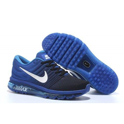 Nike Airmax 2017 Blue Running Shoes - The Nike Air Max 2017 Blue Mens  Running Shoe
