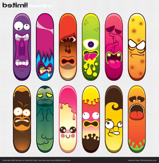 beautiful-skateboard-deck-design | Skateboard project | Pinterest ...