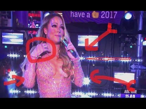 Must Watch: Mariah Carey New Years Eve performance mess!!!