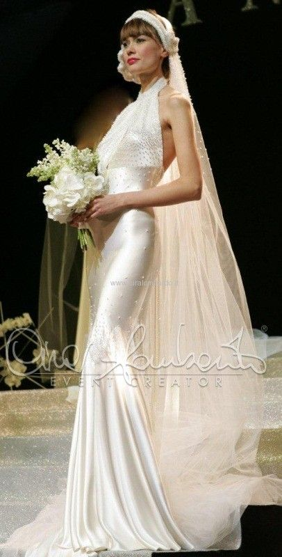 Atelier Anna Guerrini abito da sposa anni 30  f85d3d491e19