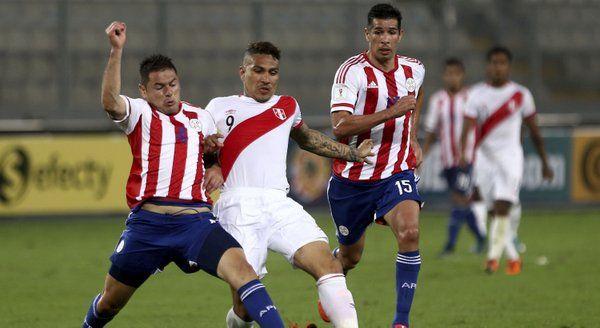 peru vencio 1 a 0 a paraguay en lima y suma sus primero 3 puntos...