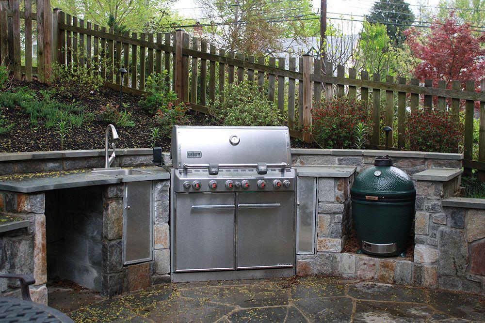 Gas Grill Outdoor Kitchen