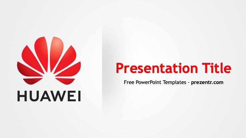 Free Huawei Powerpoint Template Prezentr Ppt Templates In 2020 Powerpoint Templates Powerpoint Templates