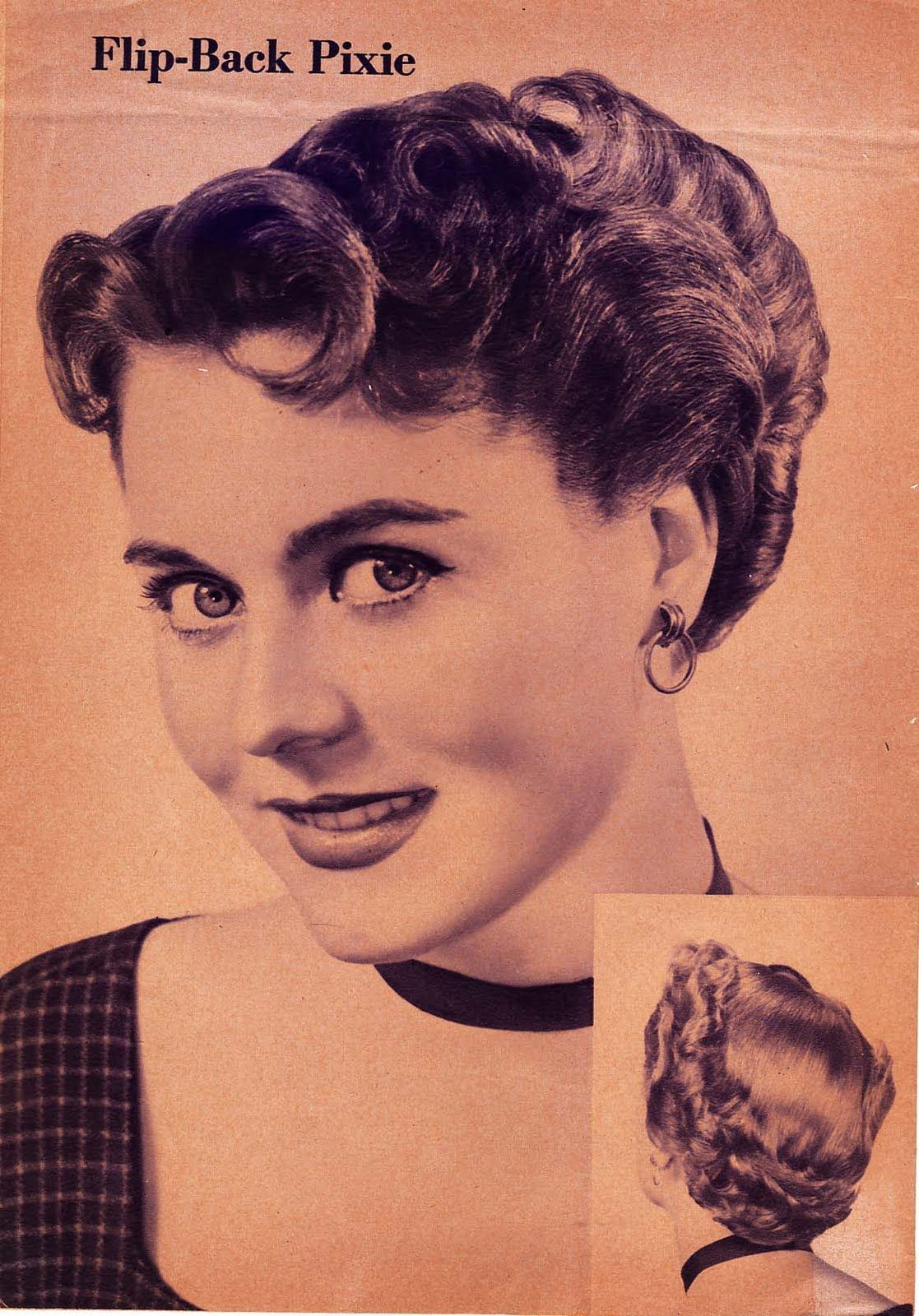 This Article Taken From Modern Beauty Shop April 1941 1940s Hairstyles Vintage Hairstyles 1940s Hairstyles Short