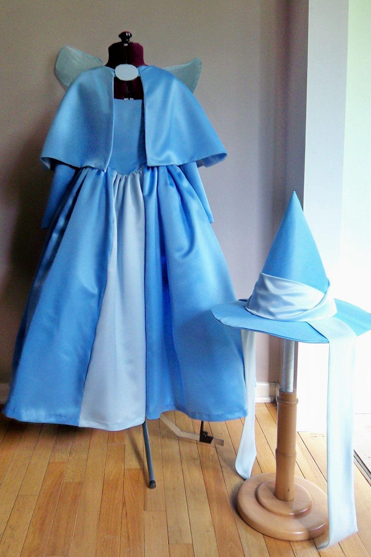 Children S Sleeping Beauty Fairy Godmother Costume Set Custom