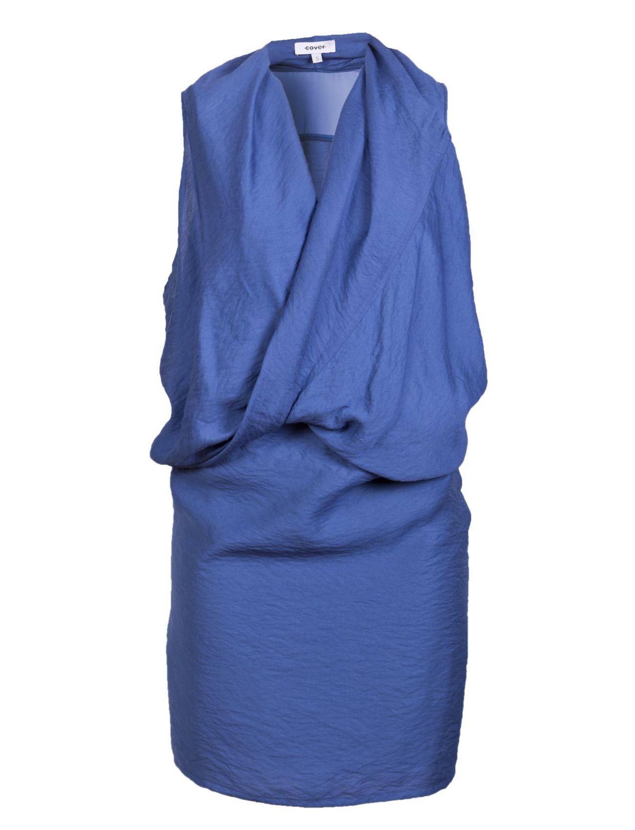 Akira dress - A wrapped and draped-front dress from cover, is a stylish core essential in the wardrobe. It can be dressed up, down or anything in-between, and functions for countless occasions.   *Sleeveless  *Above-the-knee cut