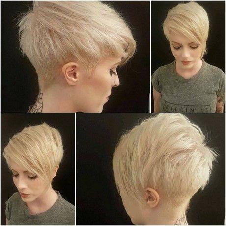 Modne Krótkie Fryzury Damskie 2017 Fryzury W 2019 Hair Cuts