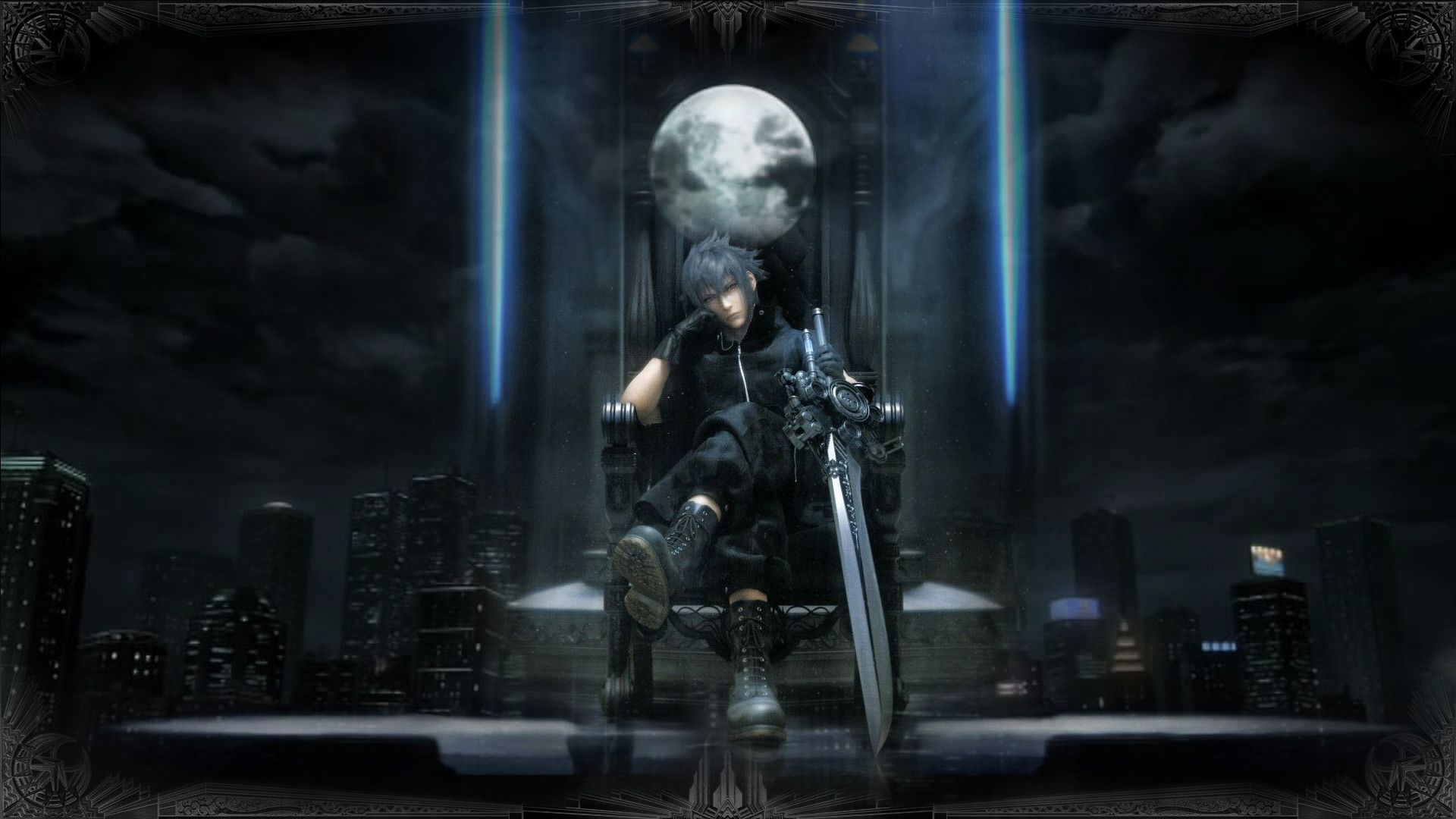 Final Fantasy 15 Noctis Wallpaper Desktop Click Wallpapers In
