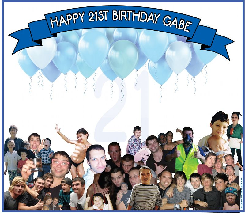 Signature Banners are Ideal for 21st Birthdays