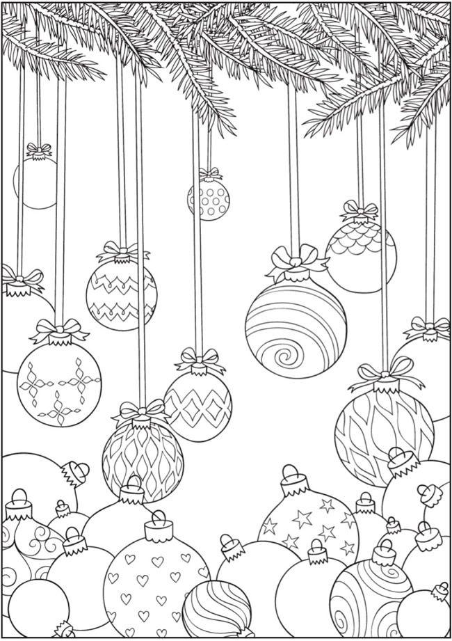 Pin de Lucie Ř en omalovánky | Pinterest | Colorear, Mandalas y Navidad