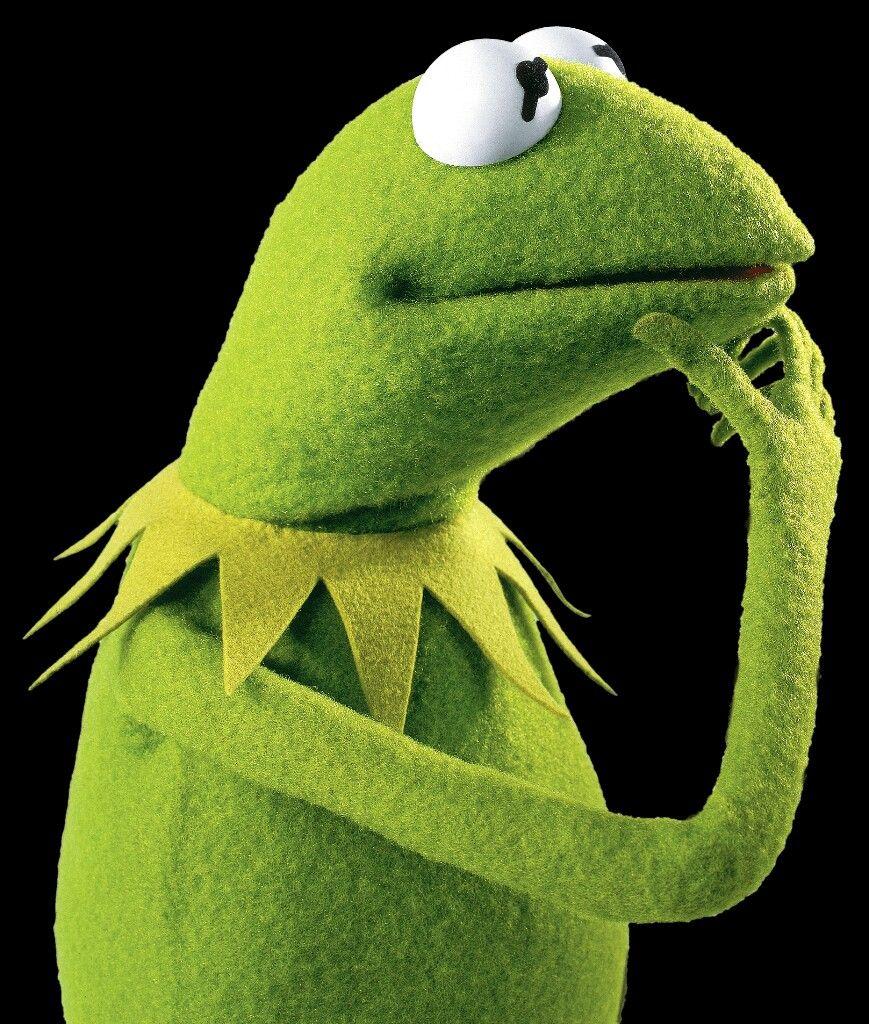 Der Frosch Kermit