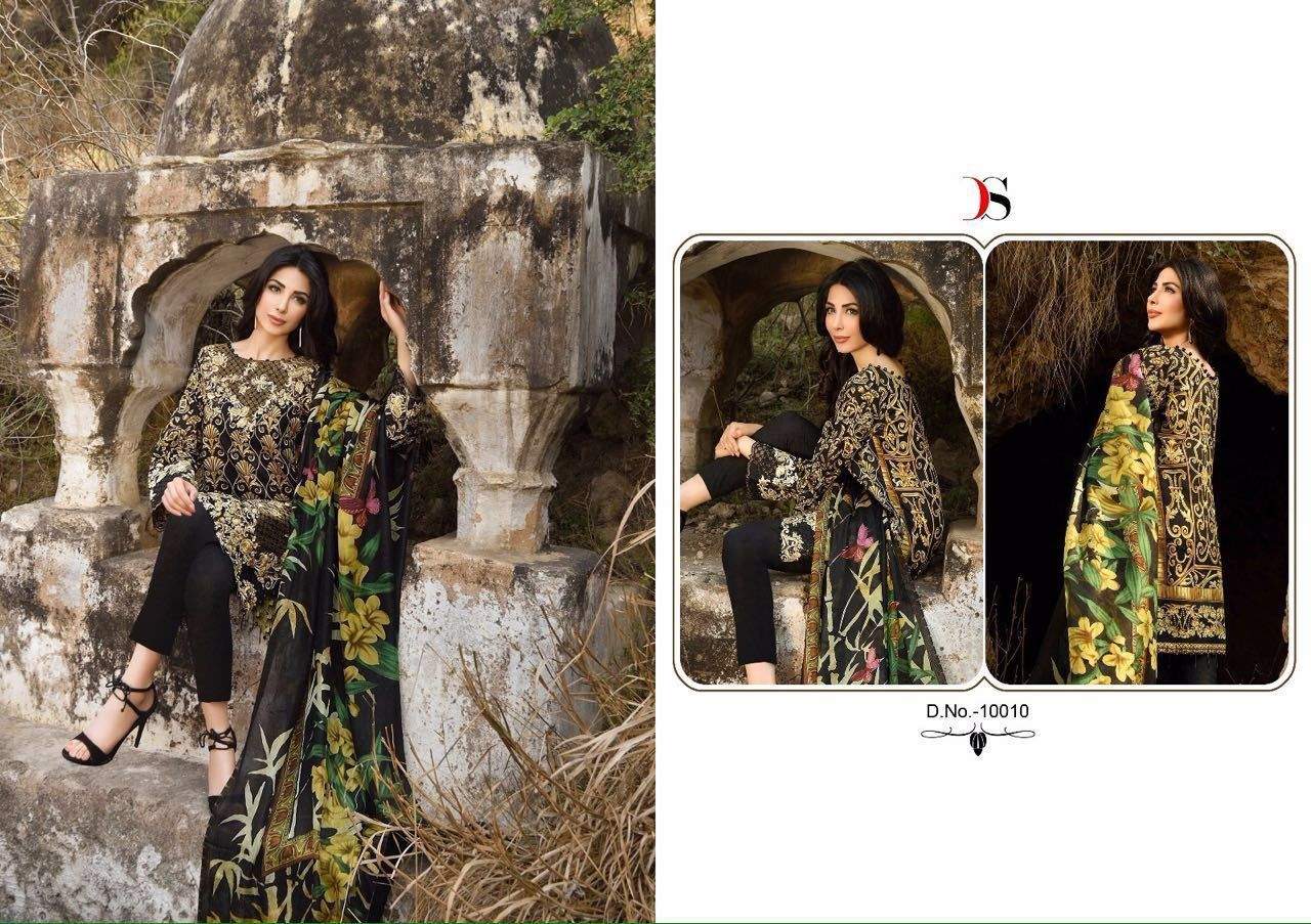 Buy Deepsy florent 4 at wholesale price from Pehnava fashion mart . Deepsy florent 4 is also Available in Single piece price is 595  for single piece of deepsy florent 4 and Price of Full catlog of d