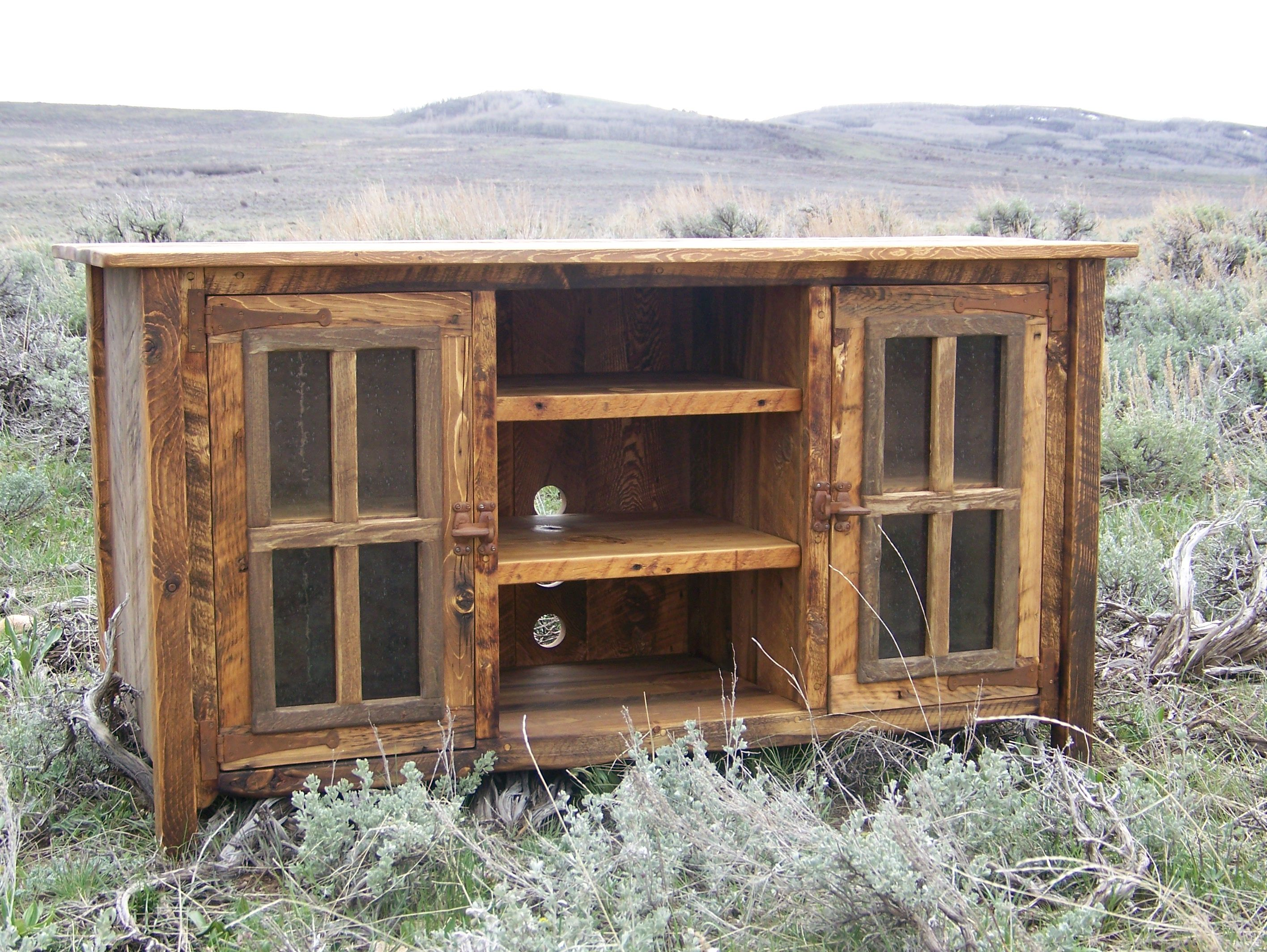 Great Rustic TV Stand (OutLaw Furniture) Wyoutlawfurniture.co