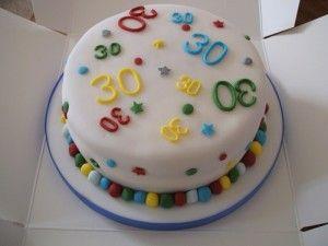 Birthday Cake 30 Year Old
