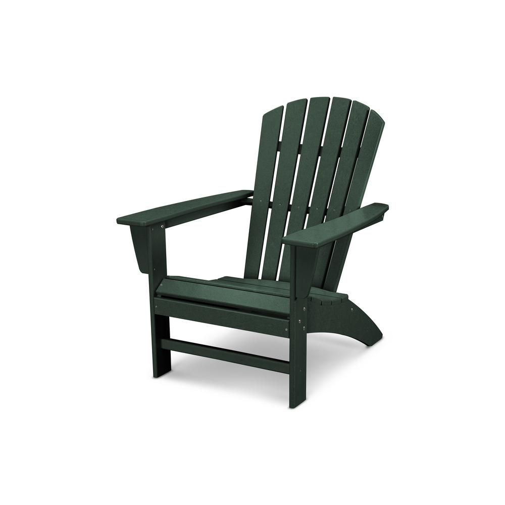 polywood traditional curveback green plastic outdoor patio rh co pinterest com