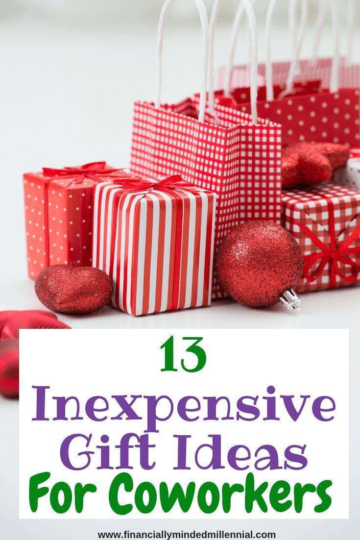 inexpensive holiday gifts for coworkers