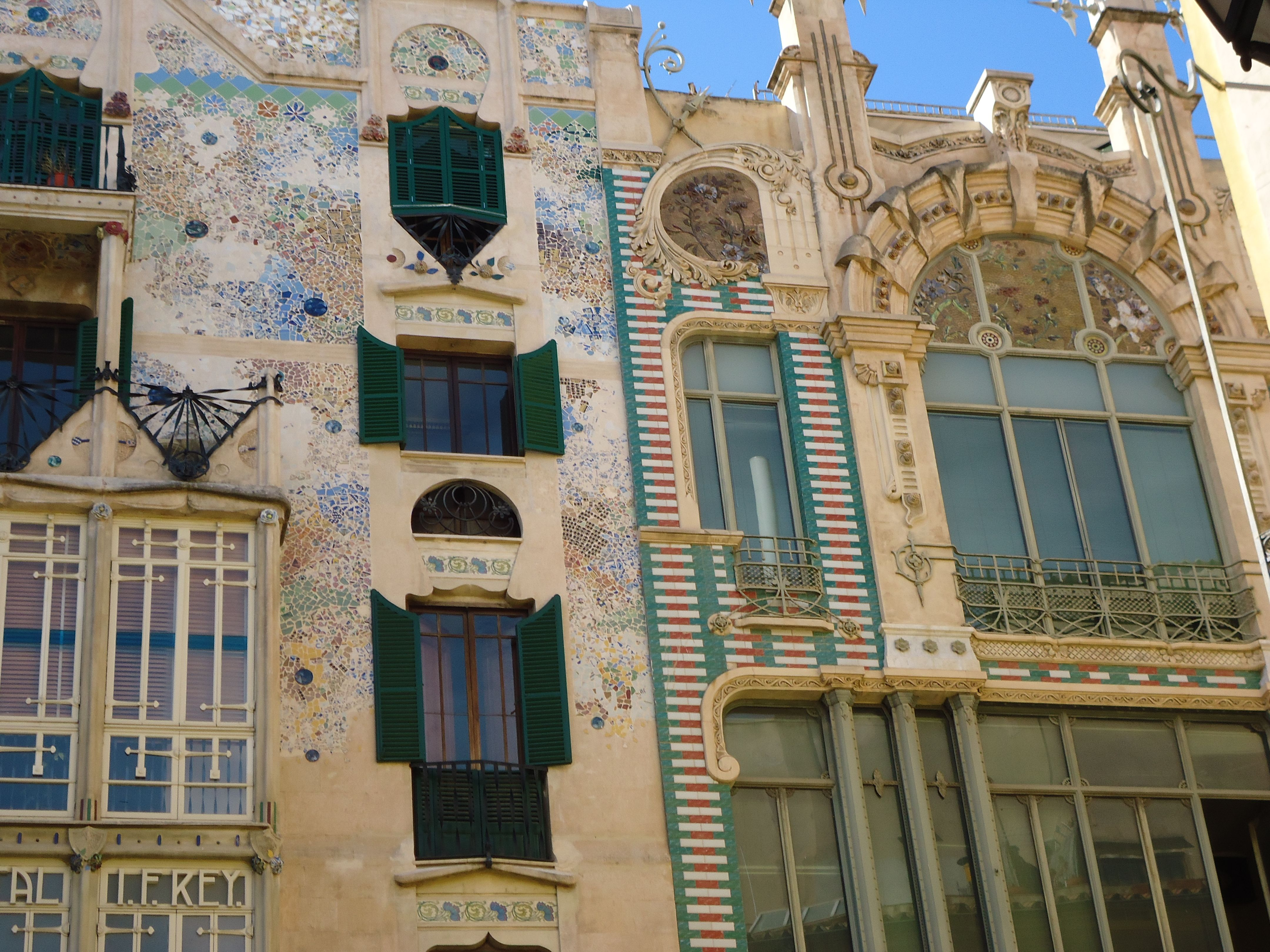 Palma de Mallorca Haus nach Gaudi Foto