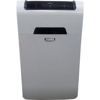 Idylis Rpac10ef 10 000 Btu 300 Sq Ft 115 Volt Portable Air Conditioner Portable Air Conditioner Lowes Home Improvements Air Conditioner
