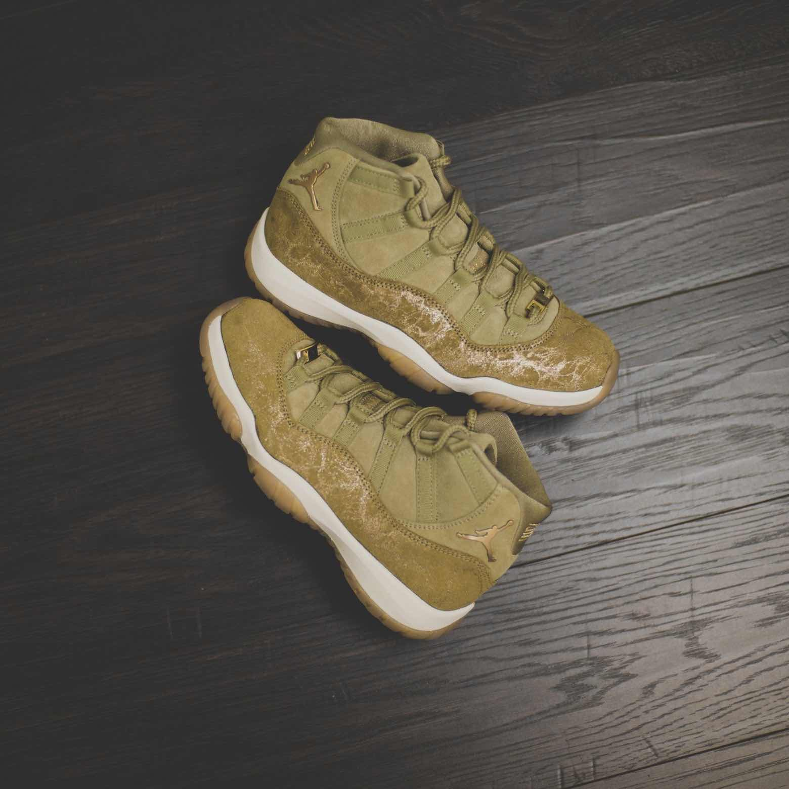 newest collection 3a61e bdef6 Air Jordan 11 Retro « Olive Lux »