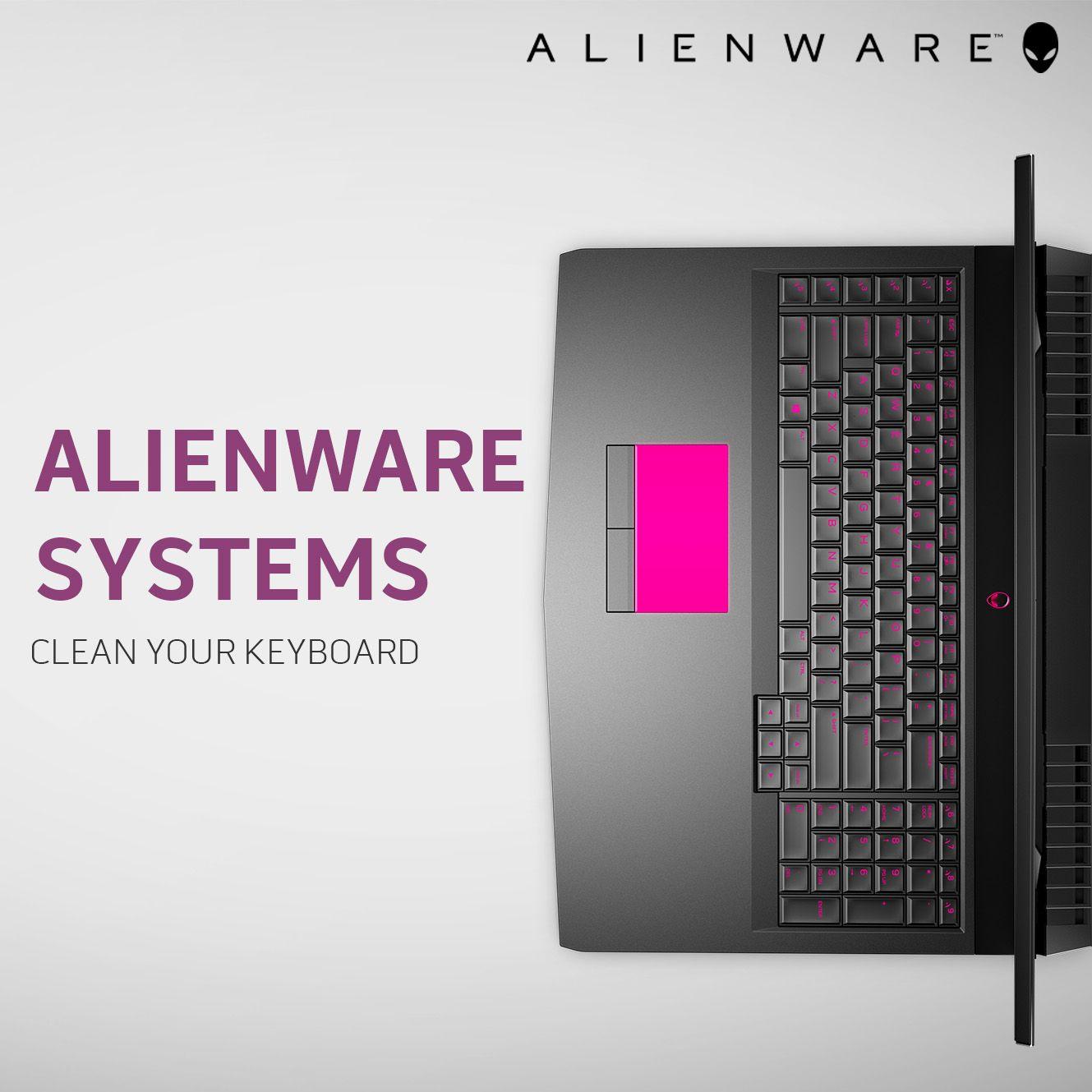 Cleaning Your Alienware System S Keyboard Alienwaretech