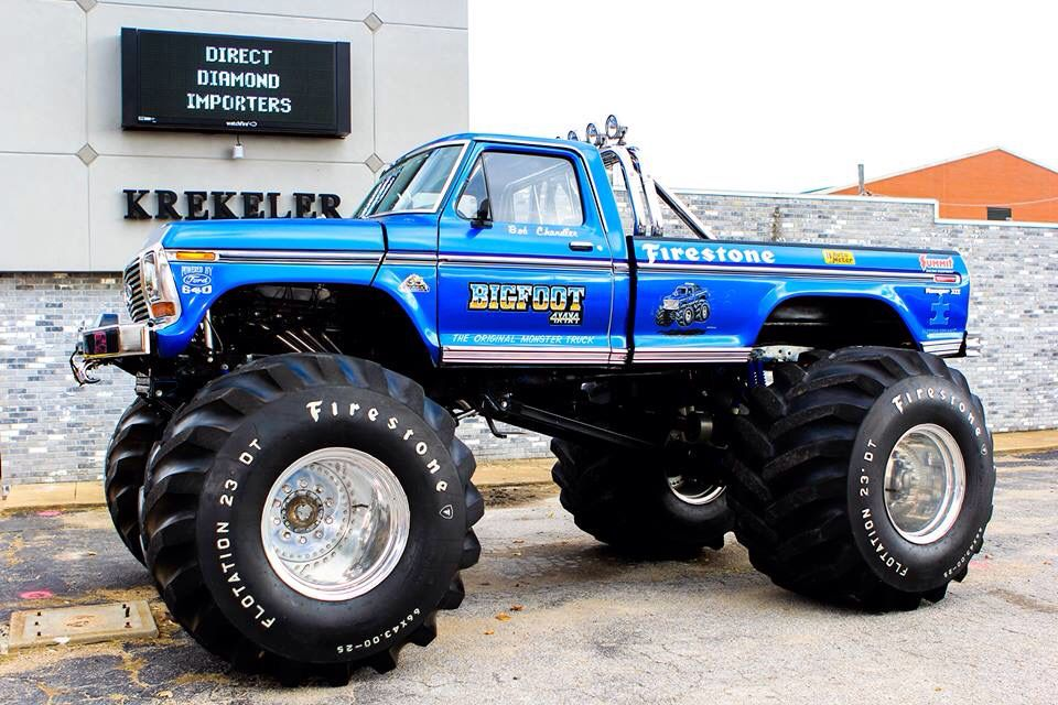 The Original Bigfoot Monster Truck Ford 4x4 With Images