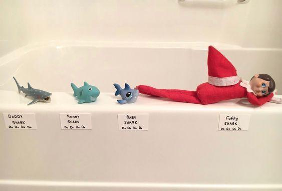 20 Funny Elf On The Shelf Ideas