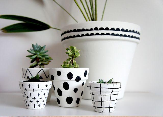 clay pot painting diy DIY PAINTED TERRACOTTA POTS  Diy pots, Painted terra cotta pots