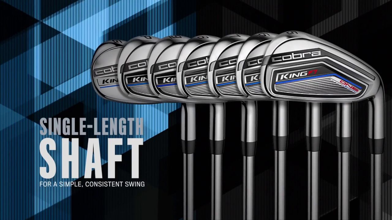 One Setup One Swing Introducing Revolutionary Onelength King F7 Irons F7king Cobrapumagolf Brysondechambeau Golf Shop Cobra Golf Swing