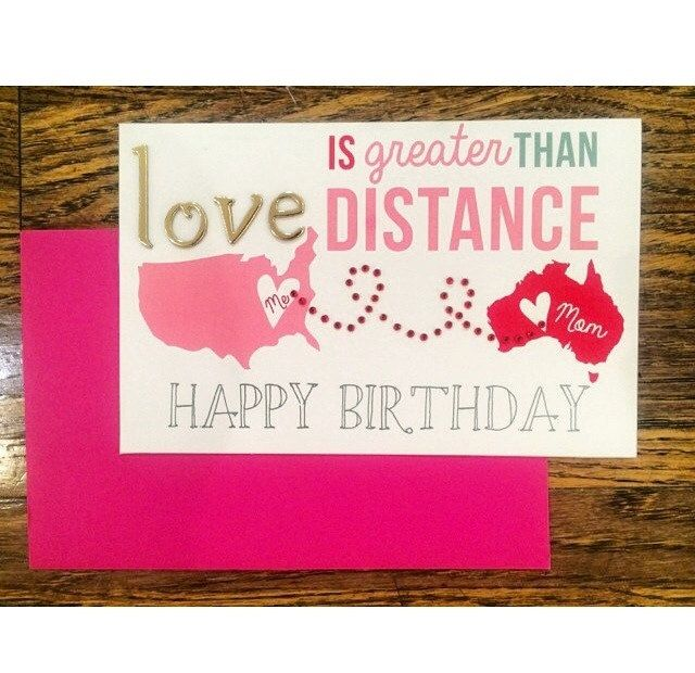 Love>Distance United Stated_Australia by kreatekards on Etsy