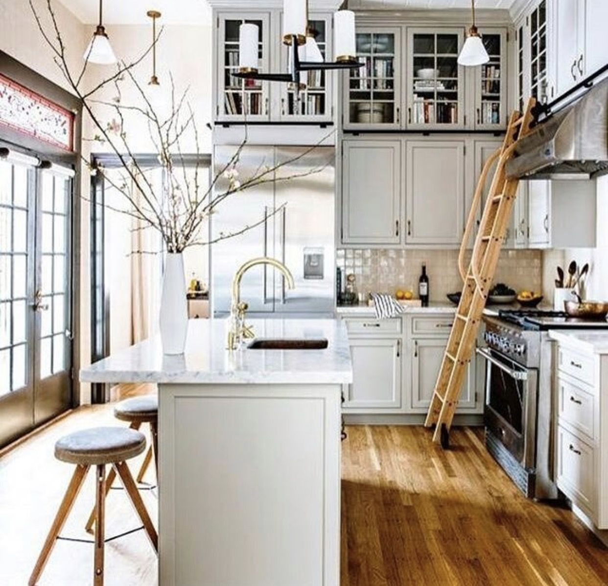 15 Stunning Gray Kitchens Pin by Stephanie